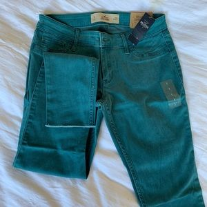 Brand new teal jeans